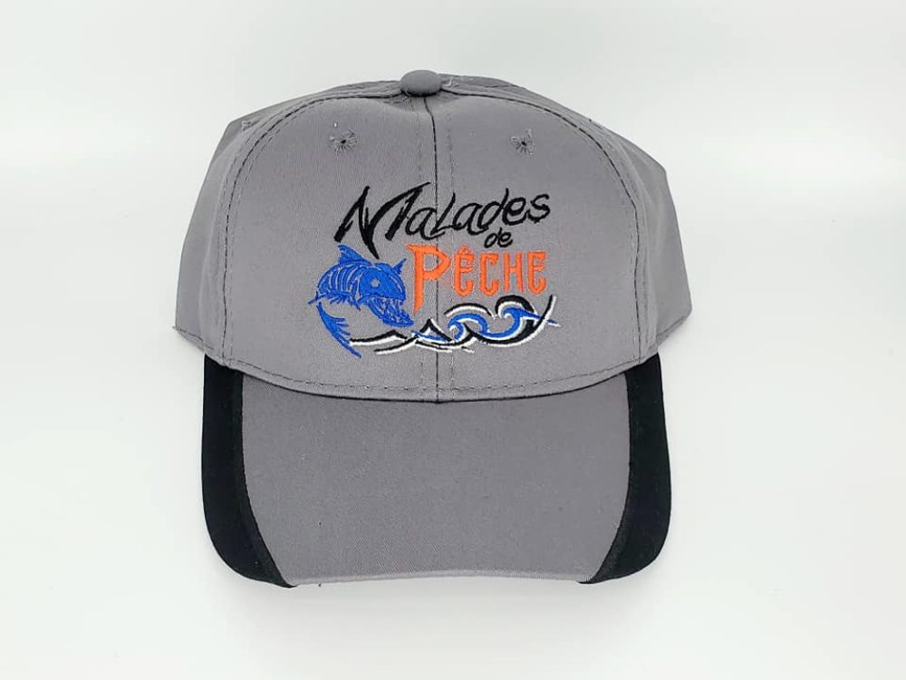 casquette Malades de Pêche face