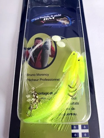 Leurre Fish Sabiki Rigs chartreuse