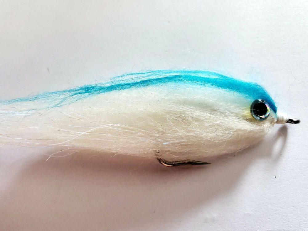 Mouche Doddle bleu et blanc