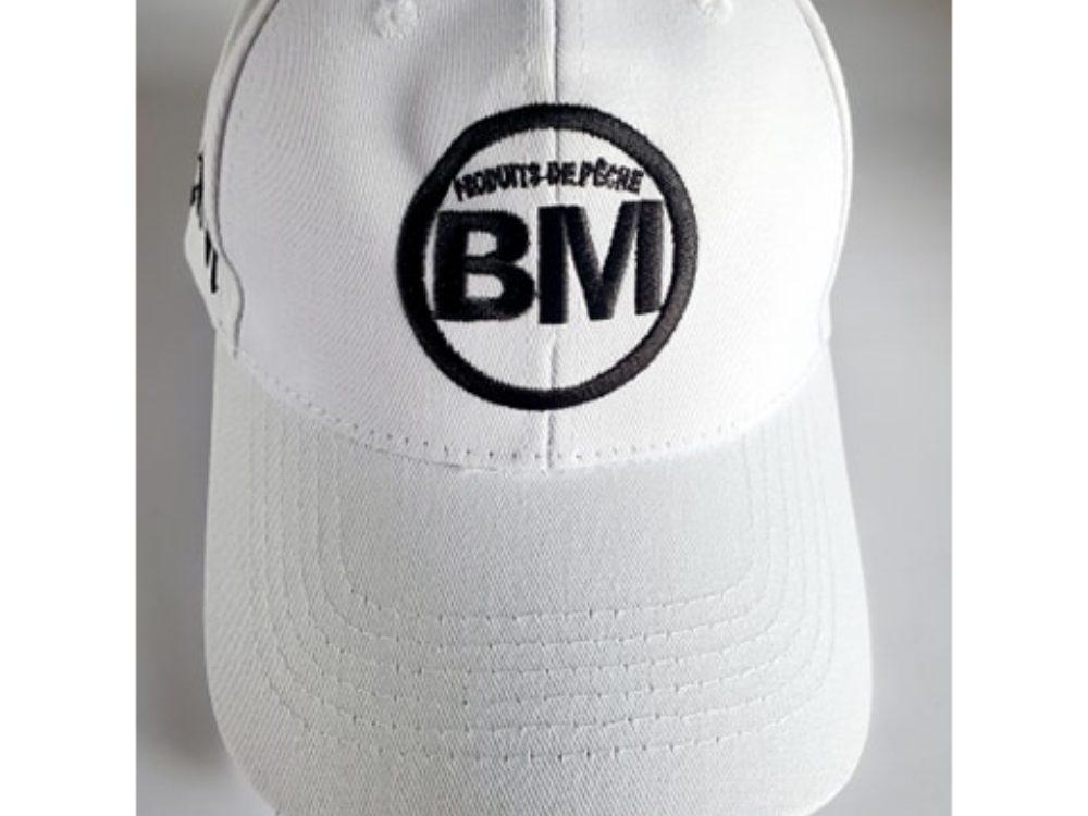 casquette Les Produits de Pêche BM blanc