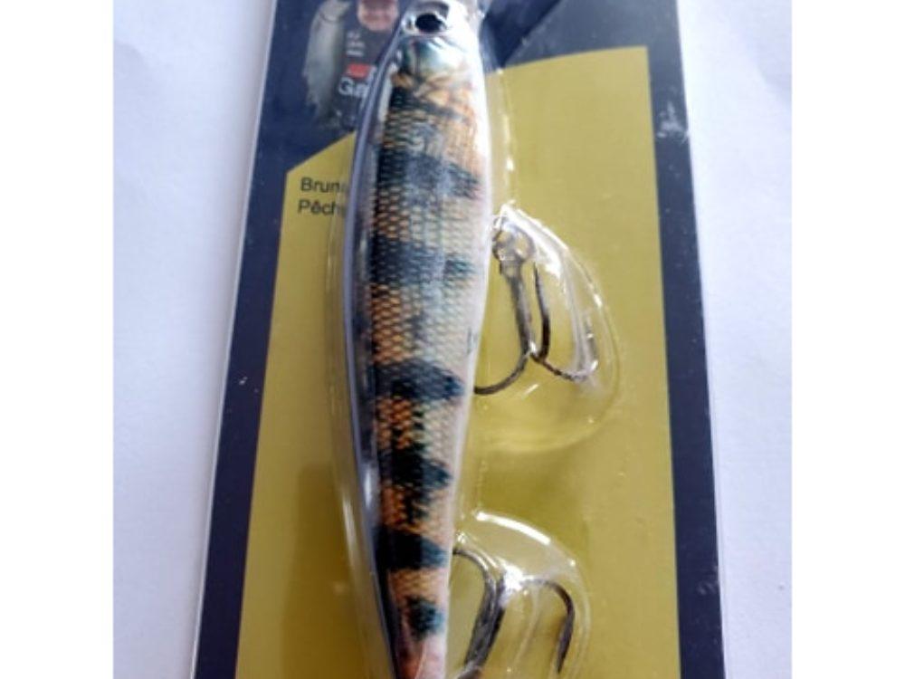 leurre natural fish zebra