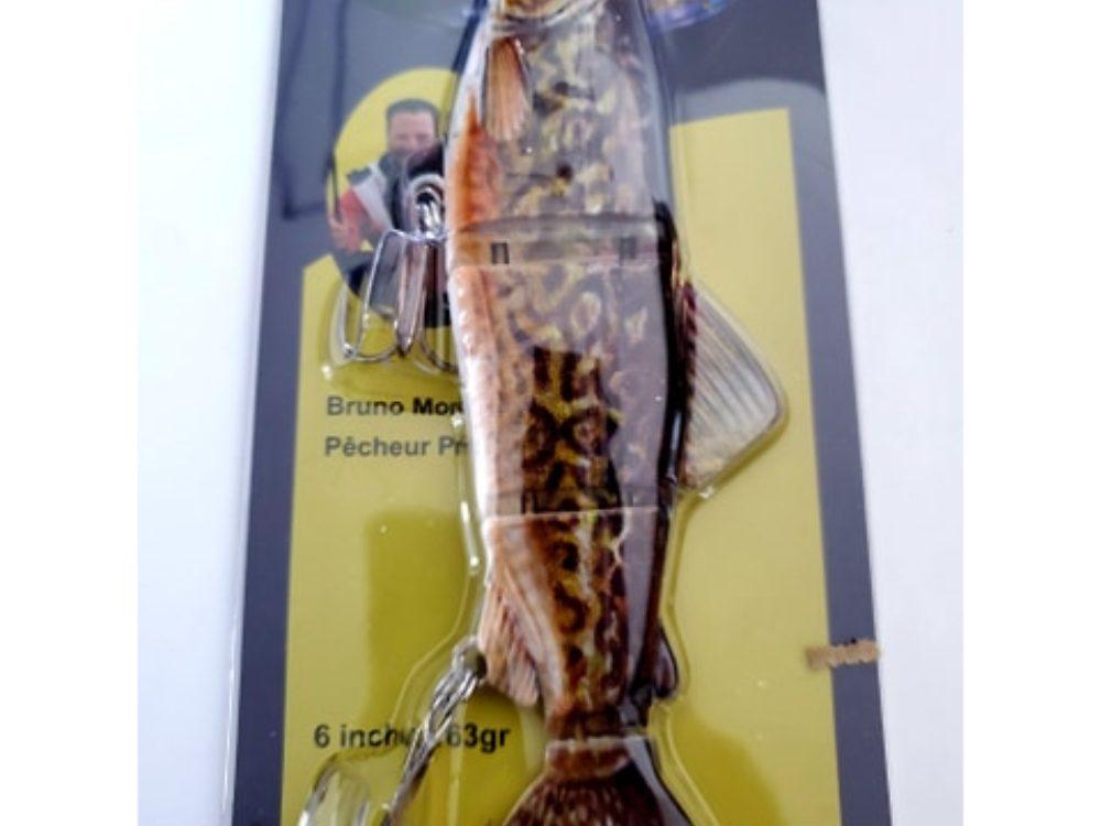 leurre truite articulé léopard