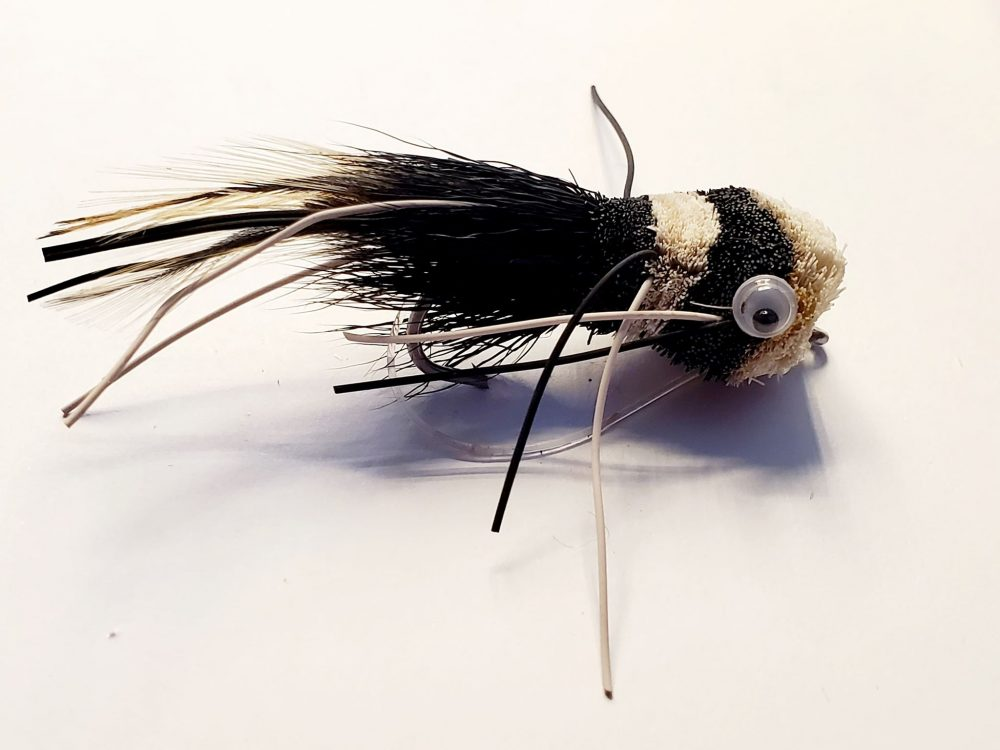 Mouche Popper black & white