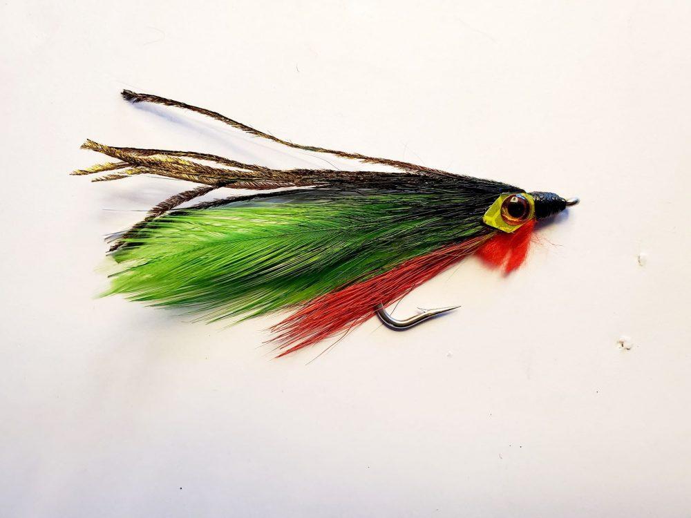Streamer vert & rouge