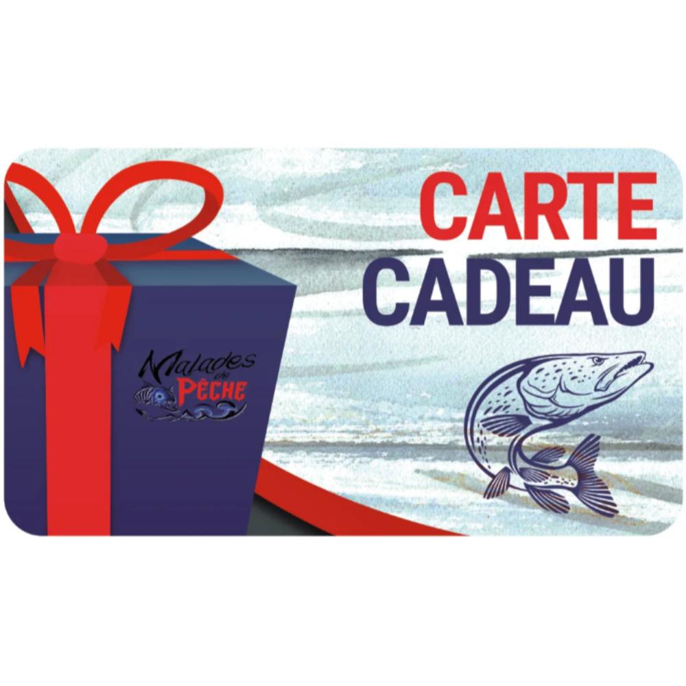 carte cadeau Malades de Pêche