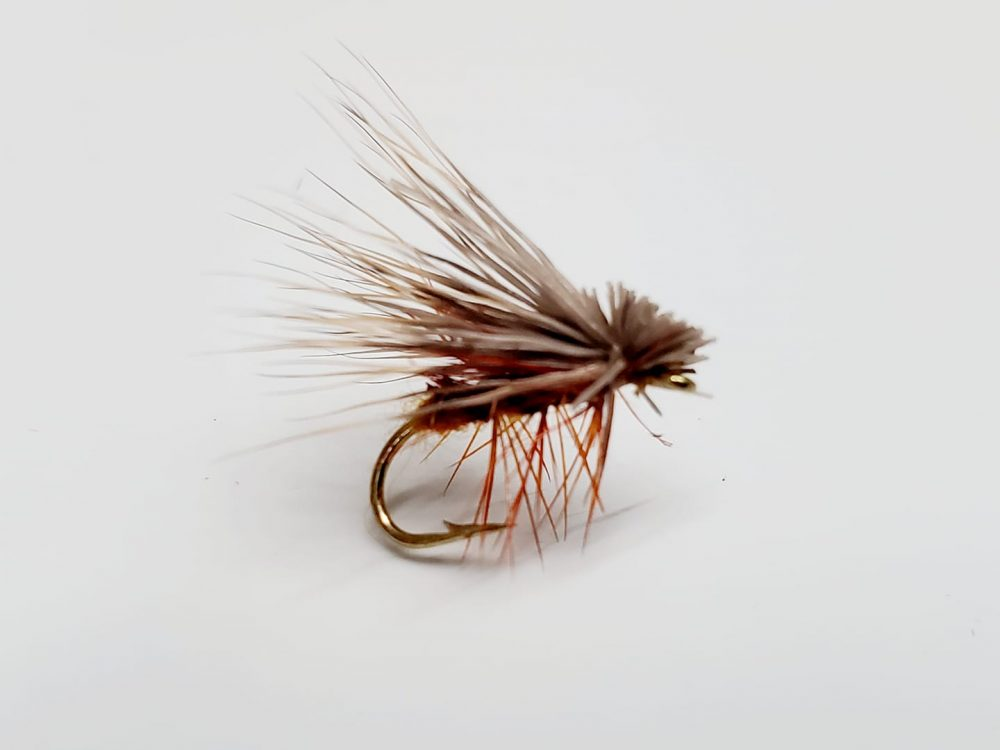 mouche elk hair cinnamon caddis