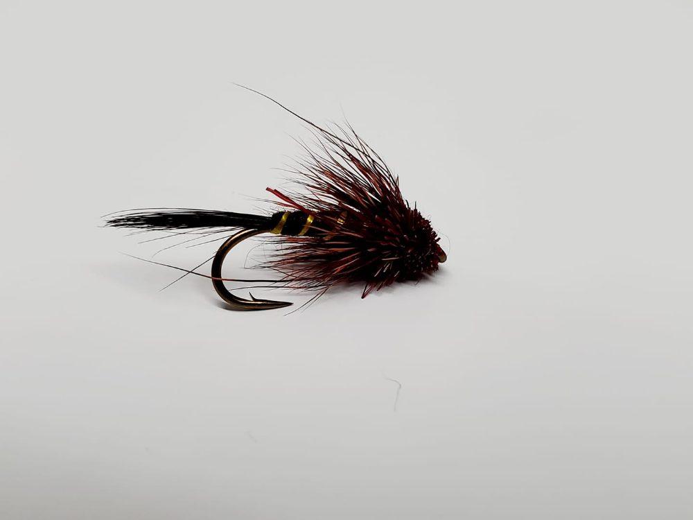 mouche muddler éphémère brune