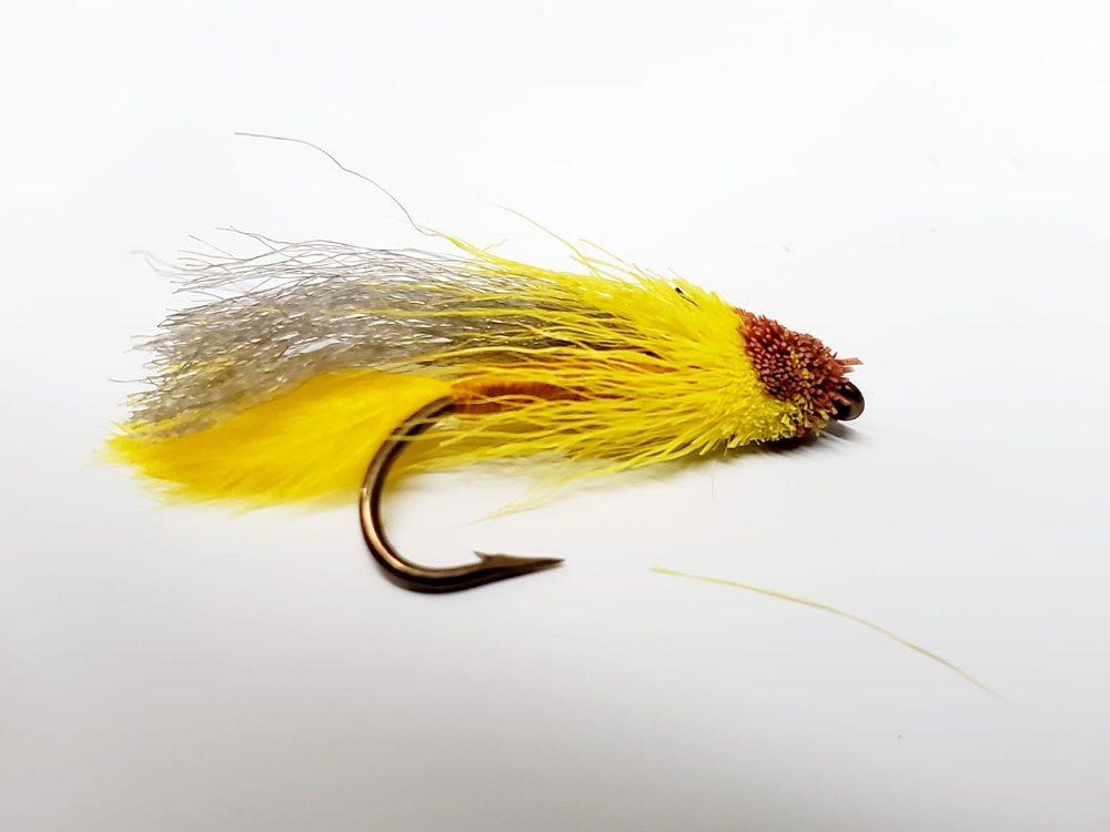 mouche muddler éphémère jaune