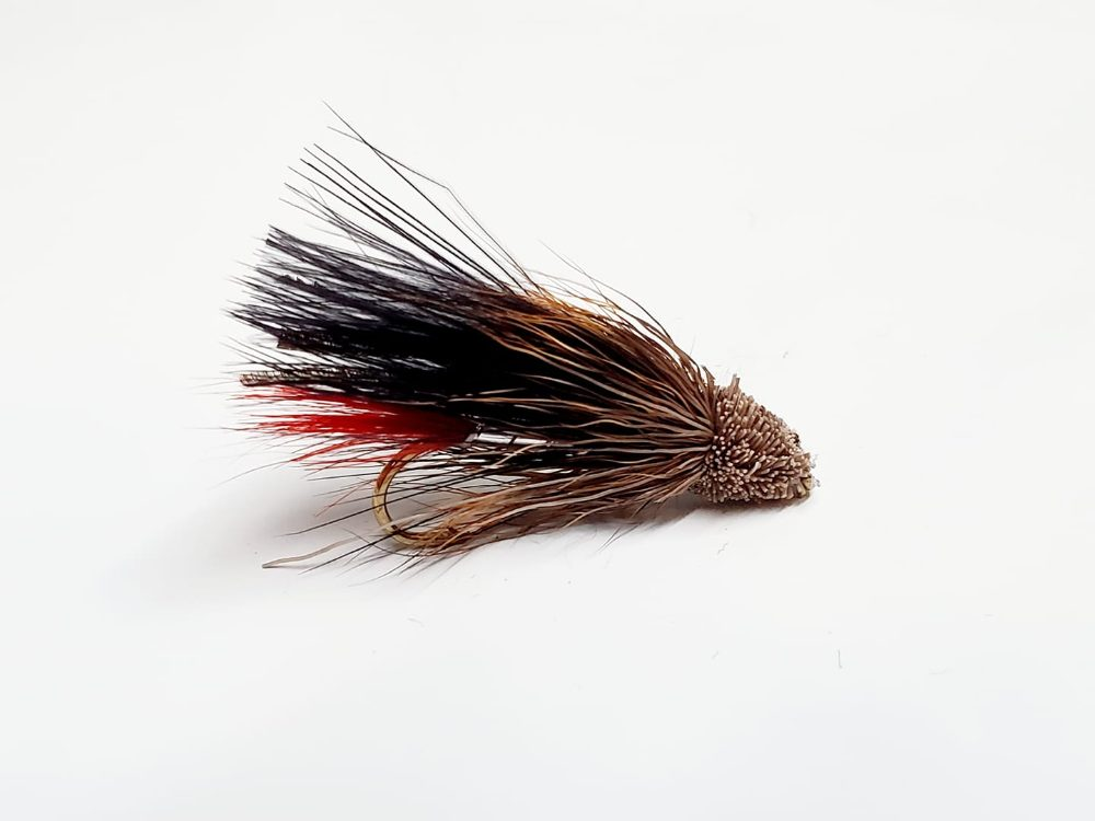 muddler minnow marabou noir
