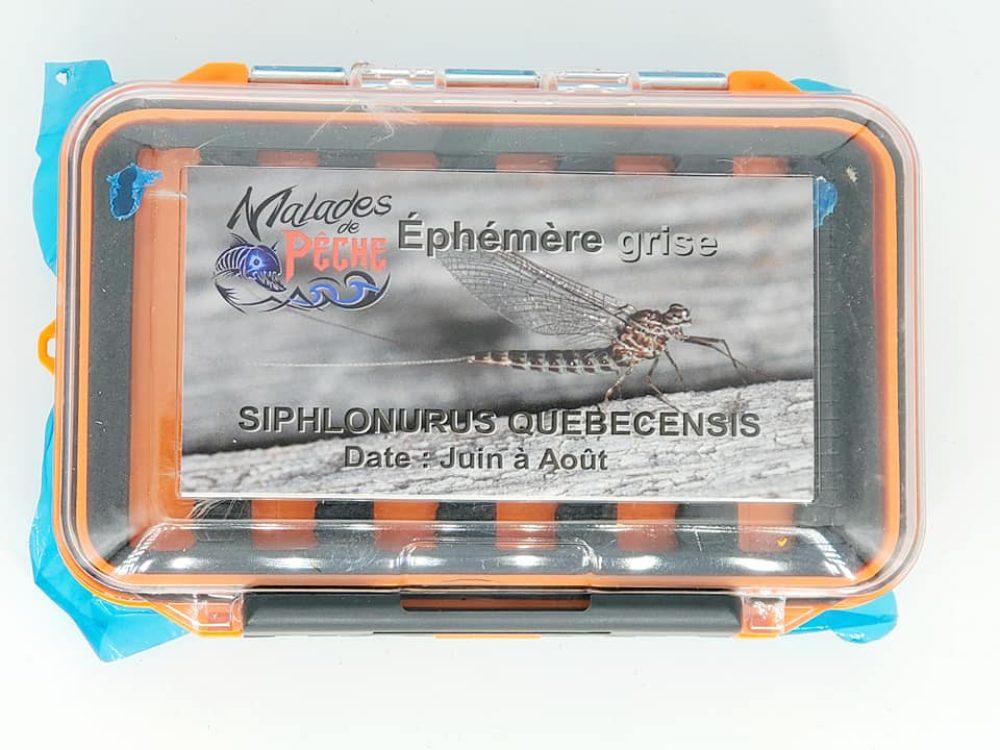 Boite Éphémère grise cover